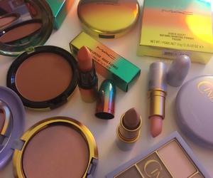 makeup, mac, and girl image