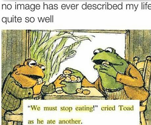 eat, food, and toad image