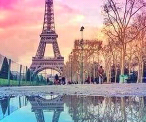 colorful, paris, and tower image