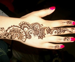 henna, tatuajes, and tatoos image