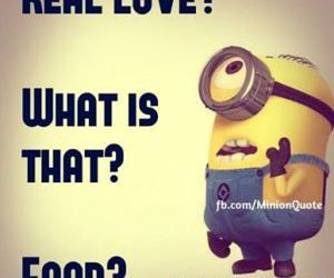 minions, funny, and food image