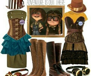 cosplay, steampunk, and up image