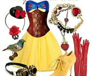 snow white and steampunk image