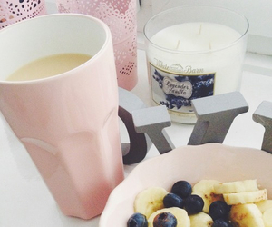 pink, food, and breakfast image