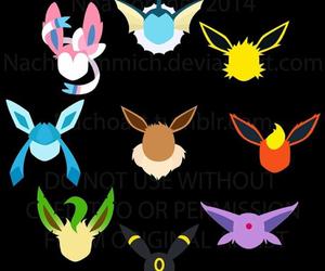 eevee, pokemon, and flareon image