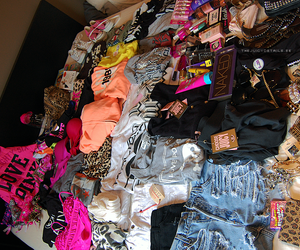 clothes, pink, and makeup image