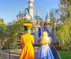 disney, alice in wonderland, and castle image