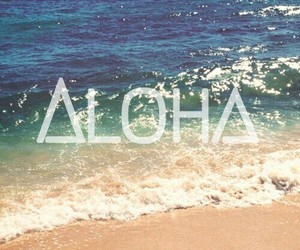 Aloha and summer image