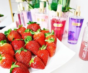 strawberry, Victoria's Secret, and summer image