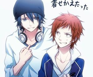 k project, fushimi, and yata image