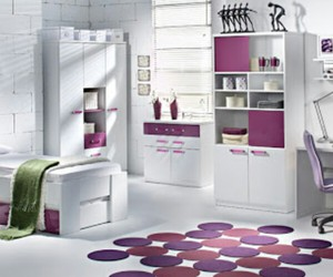 decoration, purple, and girly image
