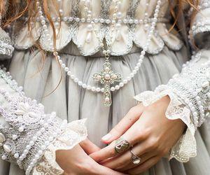 dress, beauty, and princess image