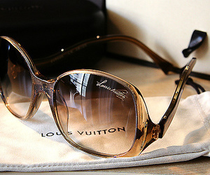Louis Vuitton, fashion, and sunglasses image