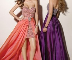 dress, Prom, and party image