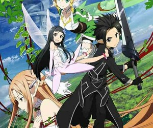 anime, sao, and sword art online image
