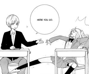 manga, funny, and shoujo image