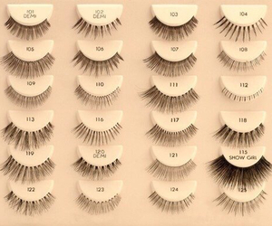 eyelashes, makeup, and beauty image