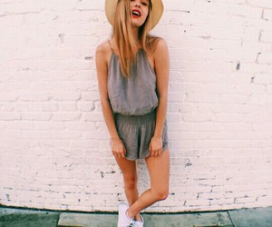 style, blonde, and cool image