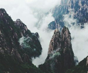 nature, clouds, and mountains image