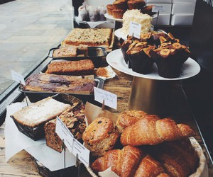 breakfast, food, and muffin image