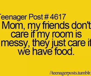 food, teenager post, and friends image