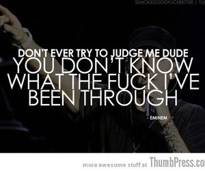 eminem, quote, and judge image