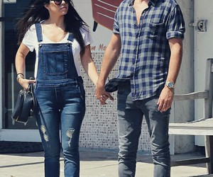 couple, kourtney kardashian, and scott disick image