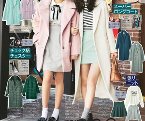 fashion, japanese, and pastel image