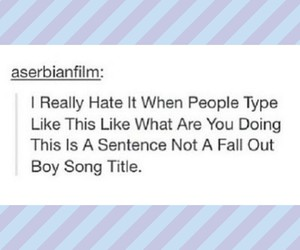 FOB and tumblr image