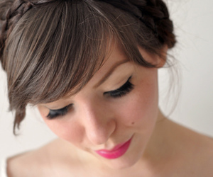 bangs, beautiful, and gorgeous image