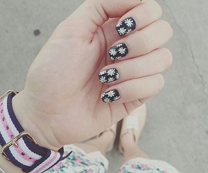 flowers and nails image