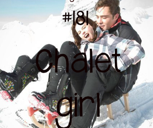 chalet, ed, and girl image