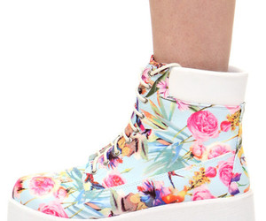 fashion, floral, and platform image