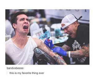 funny, panic! at the disco, and brendon urie image