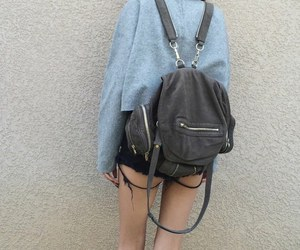 backpack, grunge, and life image