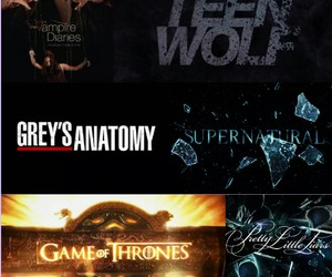 supernatural, grey's anatomy, and pretty little liars image