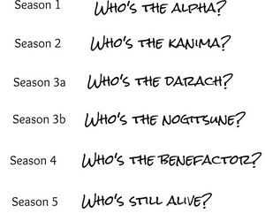 teen wolf, alpha, and tw image