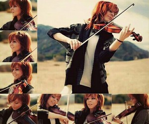 music, violin, and violinist image