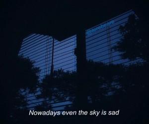 sad, grunge, and dark image