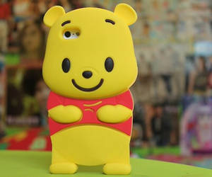 winnie the pooh, iphone, and case image