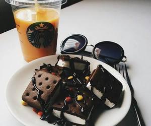 chocolate, food, and starbucks image