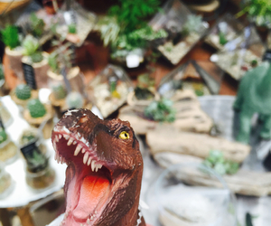 dinosaur, cute, and idk image