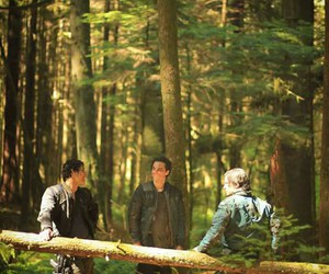 the 100, finn collins, and john murphy image