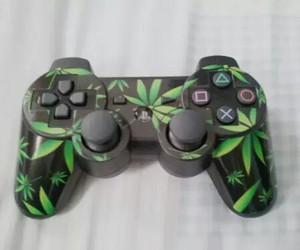 weed, game, and marijuana image