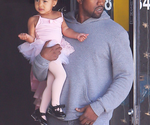 adorable, kanye west, and north west image