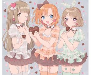 anime, love live, and girl image