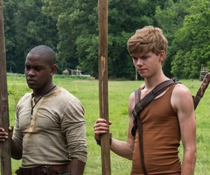 gally, newt, and will poulter image