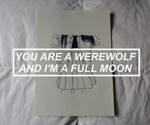 moon, art, and aesthetic image