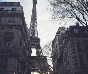 paris, city, and eiffel tower image