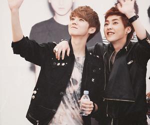 exo, luhan, and xiumin image